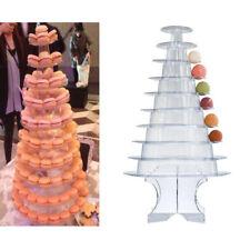 10 Tier Round Cupcake Stand Dessert Tower Display Macaron Cake Stand Holder