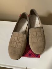 Brand New In Box Tory Burch Cowley Slipper - Camel - Size 7