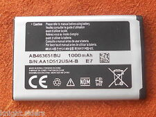 ORIGINAL SAMSUNG AB463651BU BATTERY FOR S579 S5628i S5620 C3530 S3370 S550 wITH