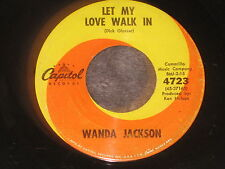 Wanda Jackson, If I Cried Everytime You Hurt Me/ Let My Love Walk In