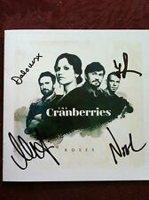the Cranberries cd ROSES signed booklet autographed Delores O'Riordan and band