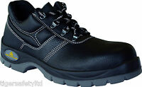 Delta Plus Panoply Jet 2 S3 Black Leather Mens Water Resistant Safety Work Shoes