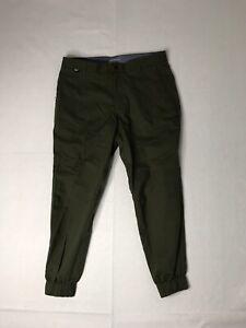Nike Oxford Jogger Modern Fit Golf Pants 803039 Sz 36x27 Green - New
