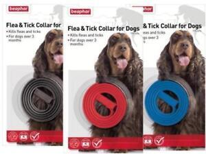 Beaphar Flea and Tick Collar Dogs Plastic Kills Fleas Ticks Prevents 4 months