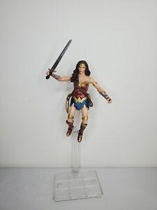 "DC Comics Multiverse Justice League 6"" Wonder Woman Steppenwolf CNC BAF Figure"