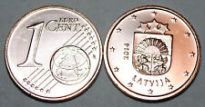 Latvia 2014 1 Euro Cent Coin BU Very Nice KM# 150