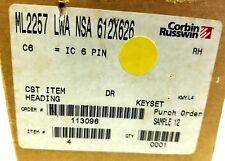 Corbin Russwin ML2257, LWA NSA 612X626, Keyset