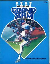 Kansas City Royals 1976 Grand Slam Magazine 1976 EX 051717nonjhe