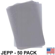 Aero Phoenix 7-Hole Chart Protectors for Jeppesen - 50-Pack