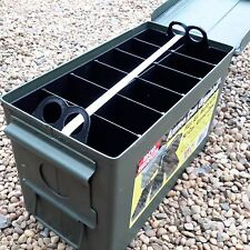 MTM Ammo Can Organizer including USED 50 Cal Ammo Box. Ideal Tool Box