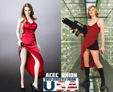 1/6 Scale Sexy Female Killer Dress Set For Resident Evil Milla Jovovich U.S.A.