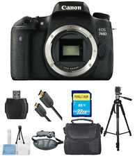 Canon EOS 760D/T6s DSLR Camera (Body Only) PRO BUNDLE!! Brand New!