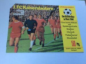 Micky Maus 1966 lose Beilage Stars im Stadion + Heft 31 Ehapa TOP Kaiserslautern