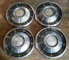 "☆1969 69 Chevrolet Impala Hubcaps Wheel Covers 14"" OEM USED 3031 SET of 4"