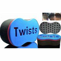 Wave Barber Hair Brush Sponge for Dreads Afro Twist Curl Coil Magic Tool K5H8
