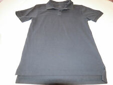 Dockers Jungen Jugend Kurzärmeliges Polohemd XL 18/20 Schule Schwarz Guc #