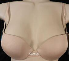 ❤️ Vanity Fair 75251 Nude 32A Original Skin Gel Push Up Underwire Bra 32 A