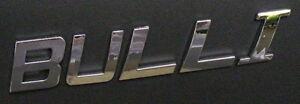 VW Bus T1 T2 T3 T4 T5 T6 - Chrom Schriftzug - BULLI - NEU