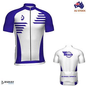 Deckra Cycling Jersey Summer Riding Short Sleeves Team Racing Bicycle Shirt Top