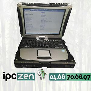 PANASONIC  Toughbook CF-19 MK8, Core i5-3610ME, 4GB RAM, QWERTY, NO HDD