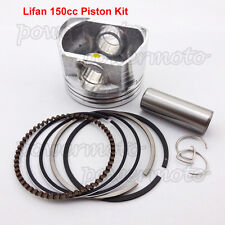 56mm piston kit 15mm pin fit moteur lifan 150cc huile refroidi CRF50 dirt pit bike
