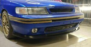 Front lip STI for Subaru Legacy BC, BJ, BF 1989-1994  [AC]