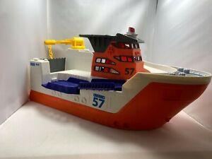 Mattel BFN57 Matchbox Multi Color Boat 2013 Matchbox Car Rescue Boat