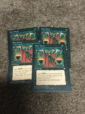 Magic the Gathering x4 Dark Ritual Ice Age Common Black Instant Light Play