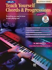 TEACH YOURSELF CHORDS AND PROGRESSIONS - KEYBOARD METHOD BOOK/CD 17239