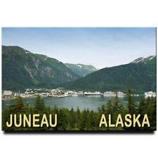 Juneau fridge magnet Alaska travel souvenir