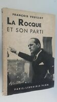 Francois Veuillot La Rocque E il Suo Festa Plön Parigi 1938 Spilla ABE