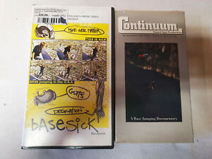BASE JUMP VHS VIDEOS, 2pcs set, from 00's