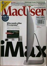 MacUSER Magazine iMAX Who NEEDS a MAC PRO iOS7 The 5 THINGS APPLE Needs to FIX