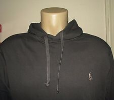 Men's $90 (M) POLO-RALPH LAUREN Terry Fleece Pullover Jersey Hoodie/Sweatshirt
