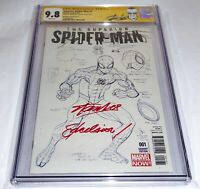 "Superior Spider-Man #1 CGC SS Signature 9.8 STAN LEE Autograph ""EXCELSIOR"" Comic"