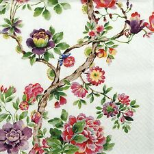 4x Paper Napkins -Japanese Garden- for Party, Decoupage