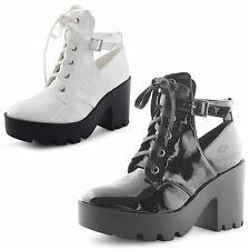 Dolcis Lace Up Synthetic Boots for Women