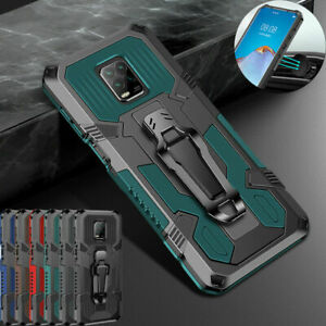 Case For Xiaomi Redmi Note 9 Pro 9S 8 Pro Heavy Duty Rugged Magnetic Stand Cover