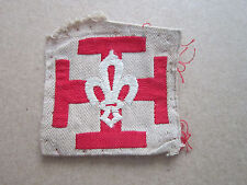 France French Woven Cloth Patch Badge Boy Scouts Scouting