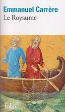 LE ROYAUME Emmanuel CARRERE roman livre Christianisme