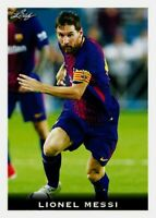 """LIONEL MESSI 2018 LEAF NATIONAL VIP RARE 'COLLECTORS CONVENTION"""" SOCCER CARD #25"""