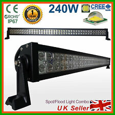 CREE LED Light Bar 240W Spot Flood Work Off Road Lamp SUV Recovery PICKUP Truck
