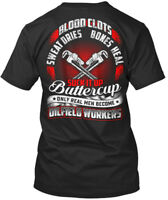 Blood Clots...oilfield Workers - Clots Sweat Dries Bones Premium Tee T-Shirt