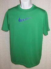 Green Nike Dri-Fit t-shirt tag reads size Xl
