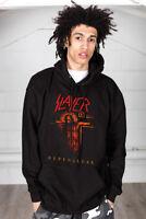 Official Slayer Repentless Crucifix Unisex Hoodie Pullover Hood Jumper Merch
