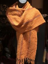 Vintage Hand made Irish Wool Scarf Shawl Wrap