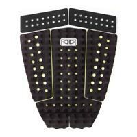 Godfather 5 Piece Tail Traction Pad in Black and Lime from Ocean and Earth