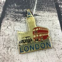 "London Big Ben Refrigerator Magnet 2"" Collectible Travel Souvenir Vintage"