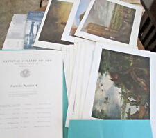 LANDSCAPE PAINTINGS for the NATIONAL GALLERY OF ART Portfolio 4 plus 3 PRINTS-15