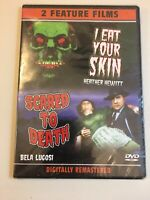 I Eat Your Skin & Scared to Death (2005 DVD Brand New Free Shipping Bela Lugosi